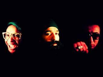 L-FRESH THE LION, MIRRAH and DJ MK-1 PHOTO CREDIT: John Khilla