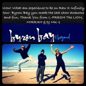 Byron Bay THANK YOU!