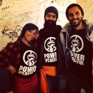 Power to the Peaceful  T-Shirts available now